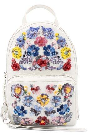 Рюкзак с вышивкой бисером | Фото №1