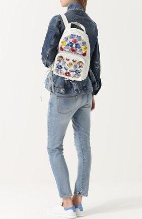 Рюкзак с вышивкой бисером | Фото №2