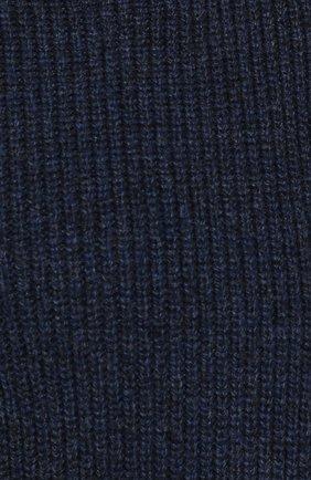 Свитер фактурной вязки из смеси кашемира и льна | Фото №5