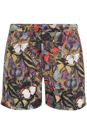 Плавки-шорты с принтом | Фото №1