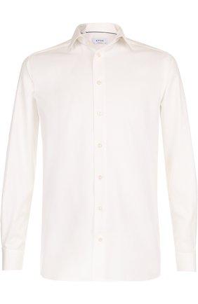 Мужская хлопковая сорочка с воротником кент ETON кремвого цвета, арт. 3153 79311 | Фото 1