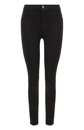 Женские однотонные джинсы-скинни J BRAND черного цвета, арт. 23110I524/F | Фото 1