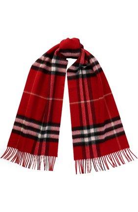 Кашемировый шарф в клетку   Фото №1