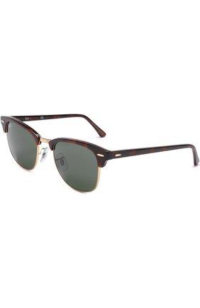 Женские солнцезащитные очки RAY-BAN темно-коричневого цвета, арт. 3016-W0366 | Фото 1