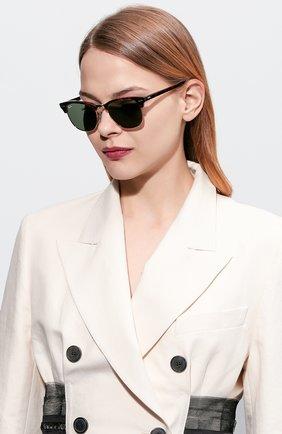 Женские солнцезащитные очки RAY-BAN темно-коричневого цвета, арт. 3016-W0366 | Фото 2