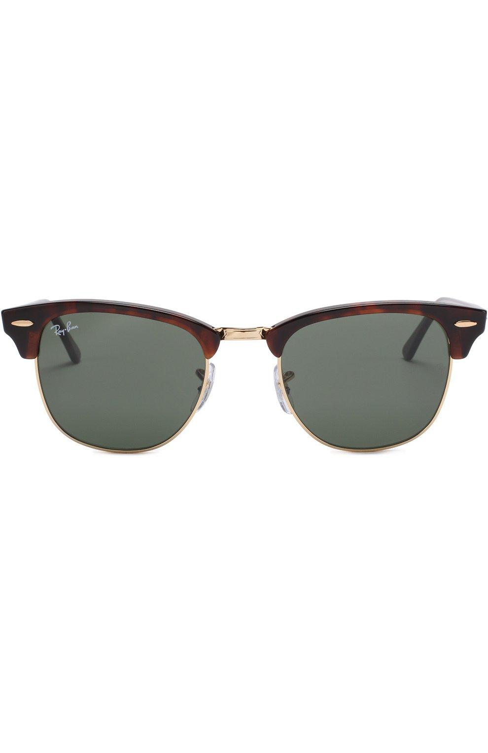 Женские солнцезащитные очки RAY-BAN темно-коричневого цвета, арт. 3016-W0366 | Фото 3