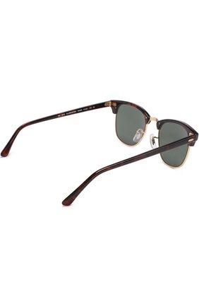 Женские солнцезащитные очки RAY-BAN темно-коричневого цвета, арт. 3016-W0366 | Фото 4