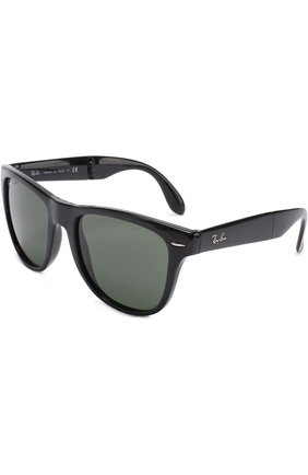 Женские солнцезащитные очки RAY-BAN черного цвета, арт. 4105-601 | Фото 1