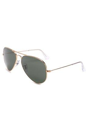 Женские солнцезащитные очки RAY-BAN золотого цвета, арт. 3025-L0205 | Фото 1