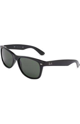 Женские солнцезащитные очки RAY-BAN черного цвета, арт. 2132-901 | Фото 1