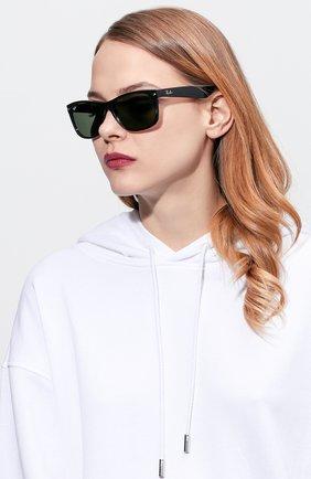 Женские солнцезащитные очки RAY-BAN черного цвета, арт. 2132-901 | Фото 2