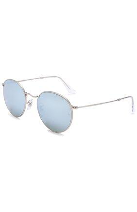 Женские солнцезащитные очки RAY-BAN серебряного цвета, арт. 3447-019/30 | Фото 1