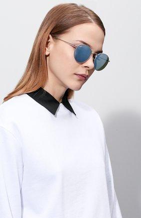 Женские солнцезащитные очки RAY-BAN серебряного цвета, арт. 3447-019/30 | Фото 2