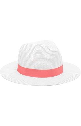 Пляжная шляпа Fedora с лентой | Фото №1