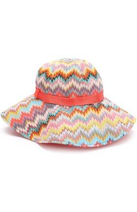 Пляжная шляпа с лентой | Фото №1