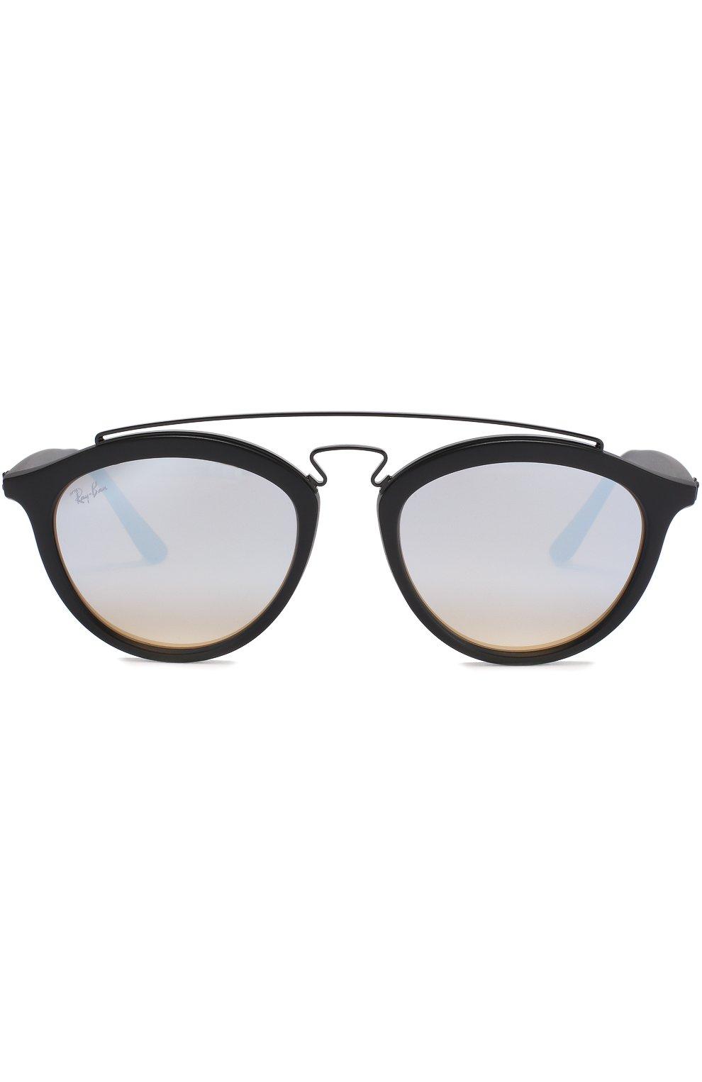 Женские солнцезащитные очки RAY-BAN черного цвета, арт. 4257-6253B8 | Фото 3