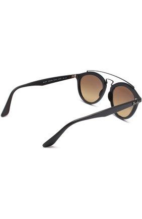 Женские солнцезащитные очки RAY-BAN черного цвета, арт. 4257-6253B8 | Фото 4