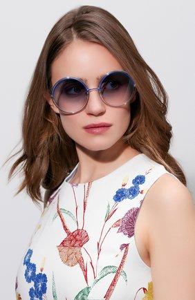 Женские солнцезащитные очки MARC JACOBS (THE) синего цвета, арт. MARC 11 TWU | Фото 2