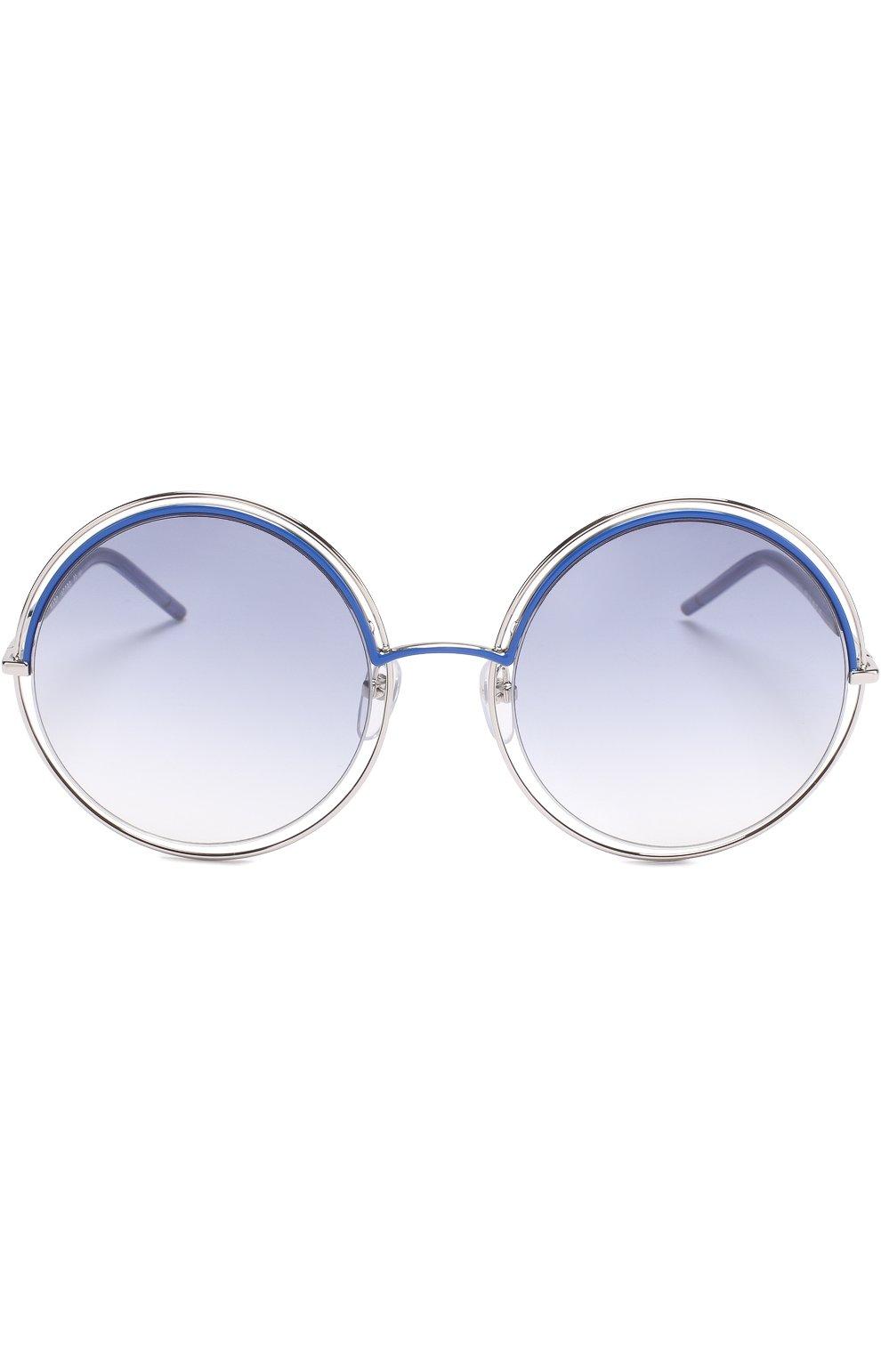 Женские солнцезащитные очки MARC JACOBS (THE) синего цвета, арт. MARC 11 TWU | Фото 3
