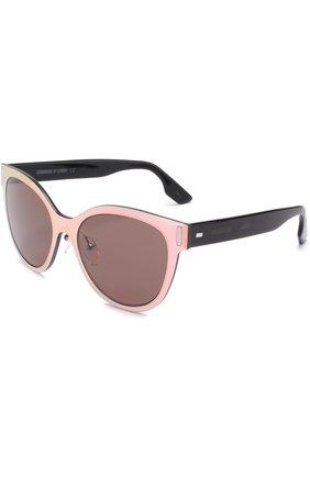 Женские солнцезащитные очки MCQ SWALLOW светло-розового цвета, арт. 0023 002 | Фото 1