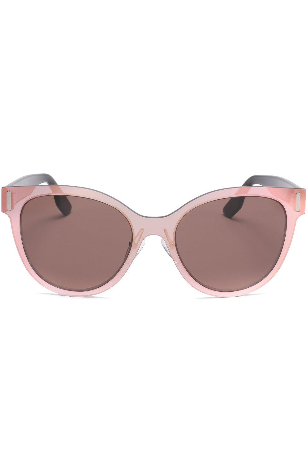 Женские солнцезащитные очки MCQ SWALLOW светло-розового цвета, арт. 0023 002 | Фото 3