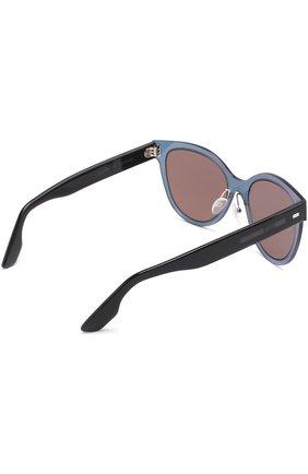Женские солнцезащитные очки MCQ SWALLOW светло-розового цвета, арт. 0023 002 | Фото 4
