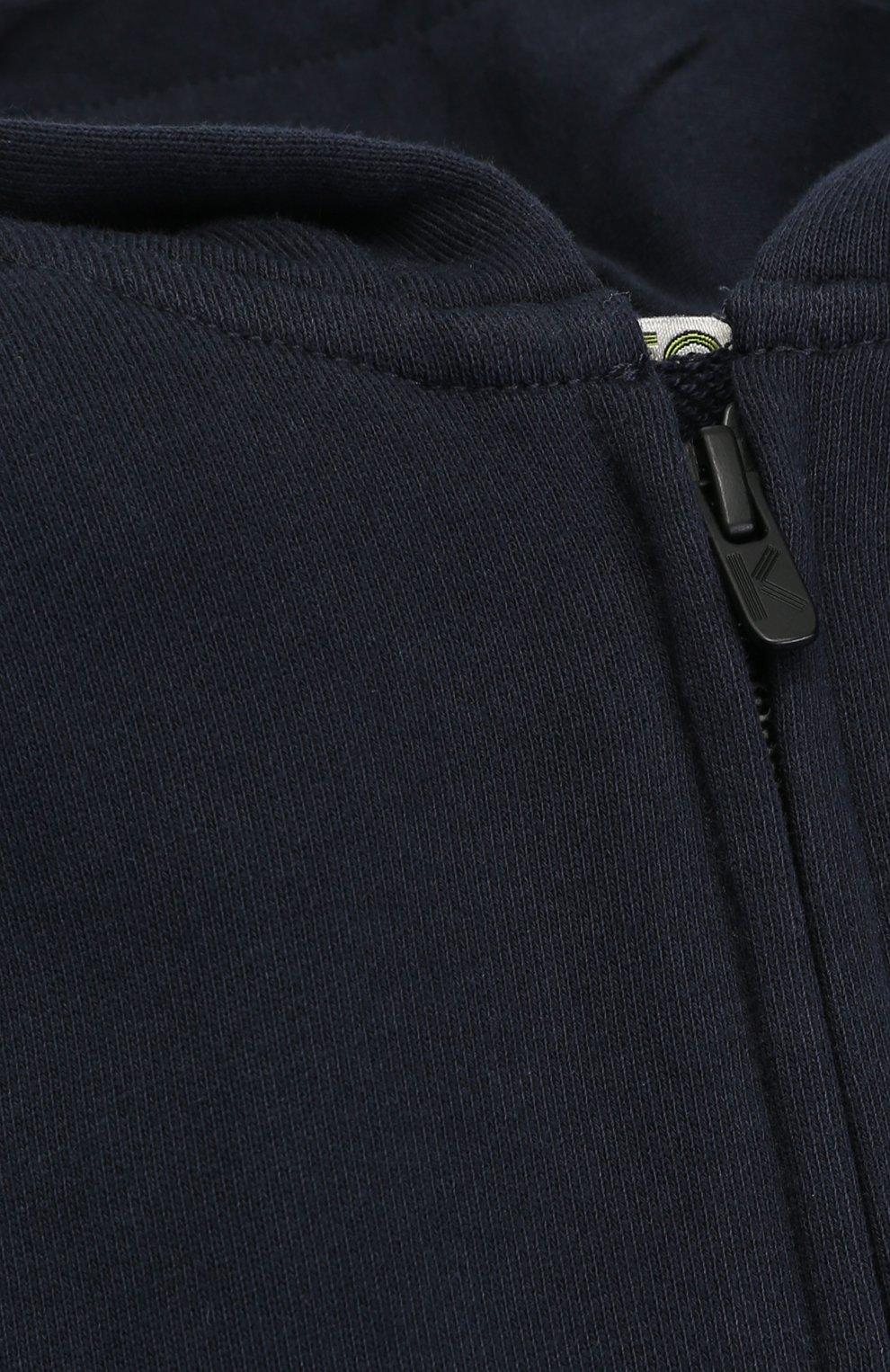 Спортивный кардиган с принтом на капюшоне | Фото №3