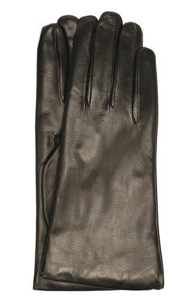 Кожаные перчатки Sermoneta Gloves темно-бежевые | Фото №1