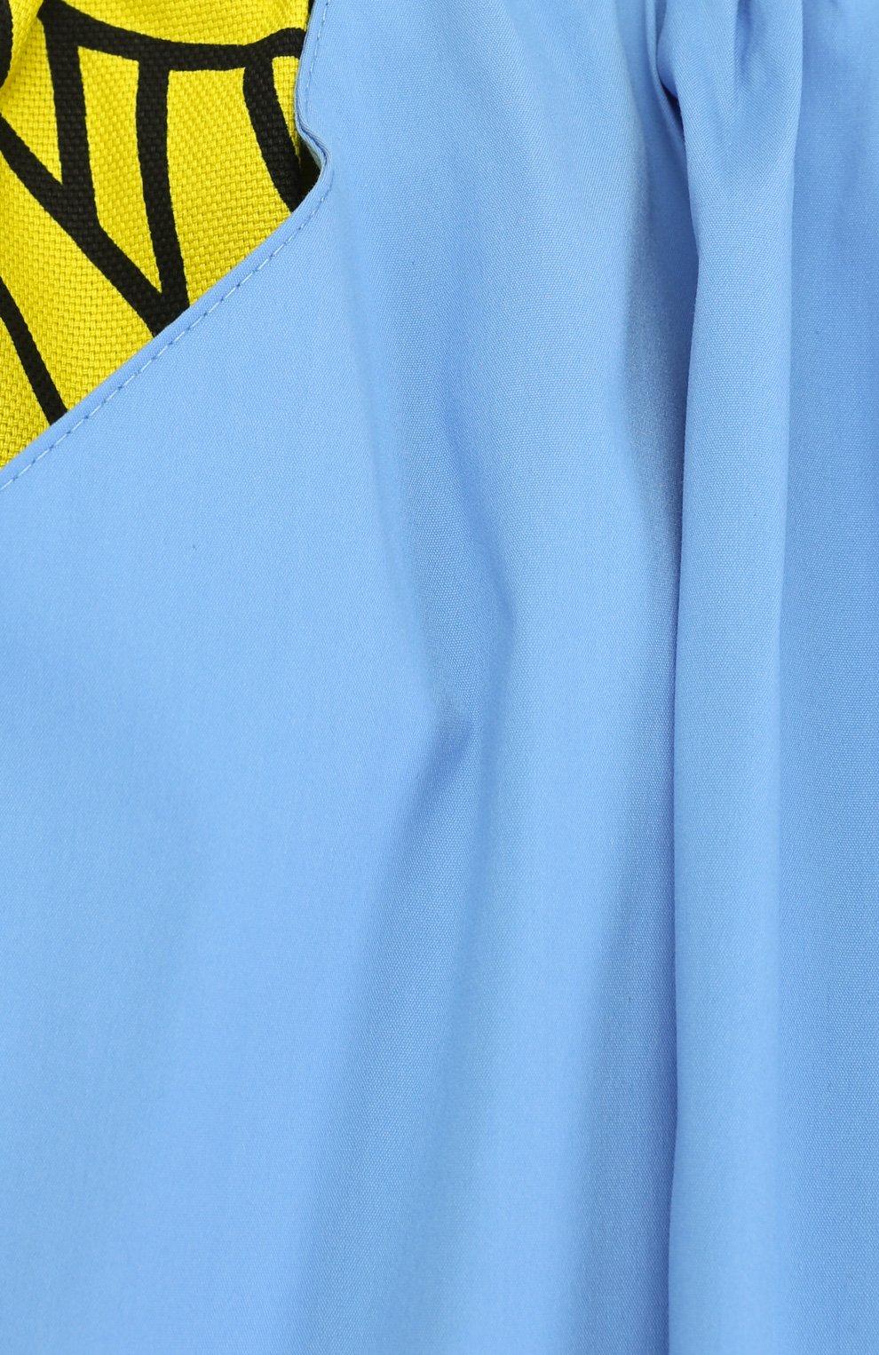 Мини-юбка свободного кроя с принтом | Фото №3
