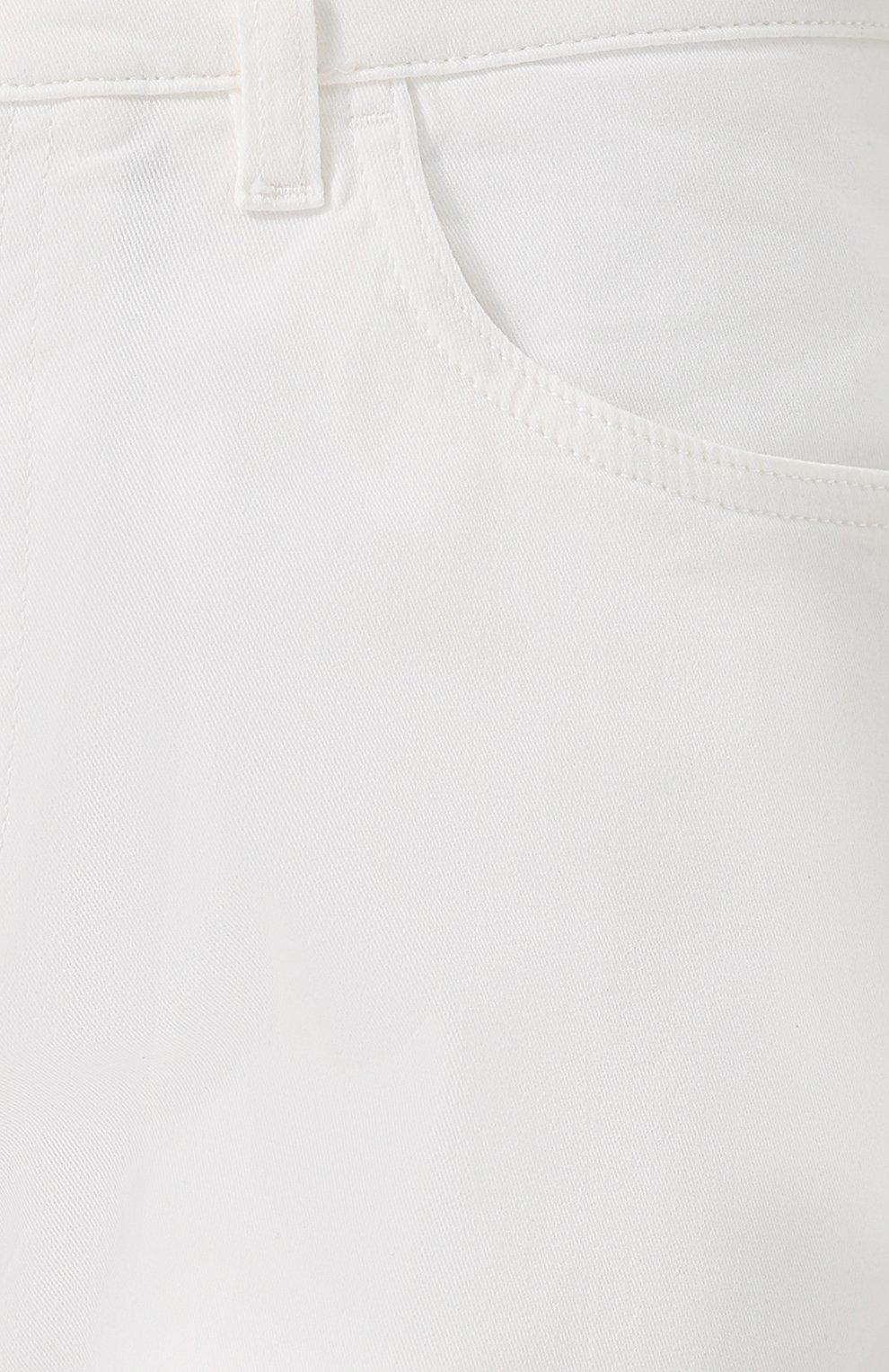 Джинсы прямого кроя из эластичного хлопка   Фото №5