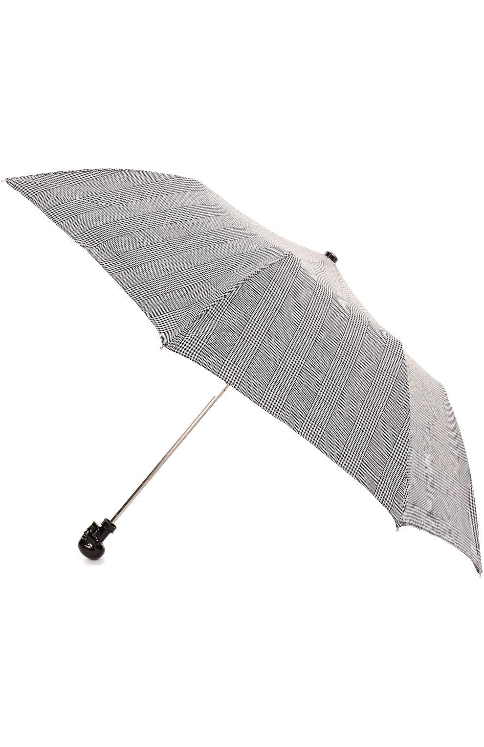 Складной зонт с черепом на ручке | Фото №2