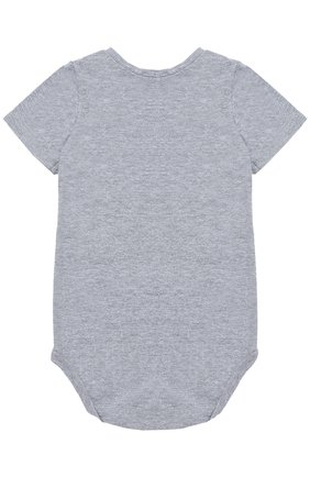 Боди джерси с накладным карманом Sticky-Fudge серого цвета   Фото №1