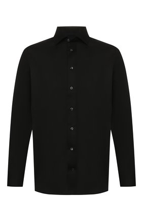 Мужская хлопковая сорочка ETON черного цвета, арт. 3000 79311 | Фото 1