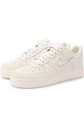 Кожаные кеды NikeLab Air Force 1 Low Jewel
