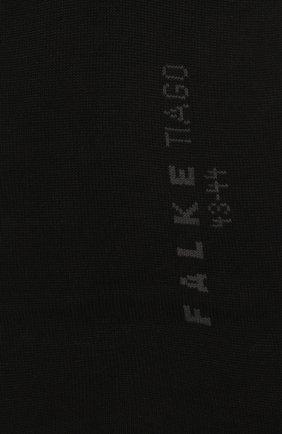 Мужские хлопковые гольфы tiago FALKE черного цвета, арт. 15662 | Фото 2