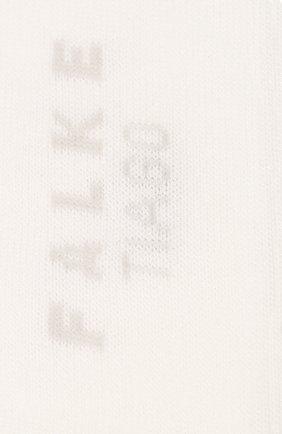 Мужские хлопковые носки tiago FALKE белого цвета, арт. 14662 | Фото 2