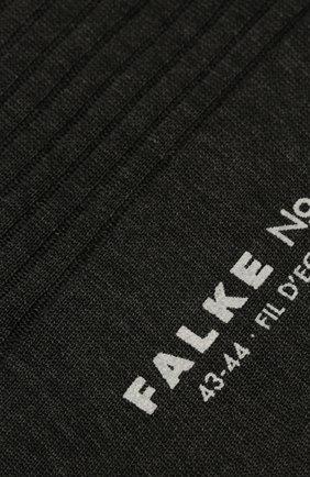 Мужские хлопковые носки FALKE серого цвета, арт. 14649 | Фото 2