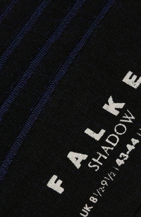 Мужские хлопковые носки shadow FALKE фиолетового цвета, арт. 14648 | Фото 2