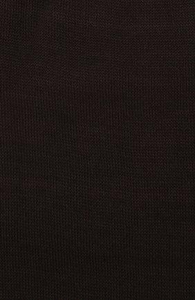 Мужские хлопковые носки ZIMMERLI темно-коричневого цвета, арт. 2501 | Фото 2 (Кросс-КТ: бельё; Материал внешний: Хлопок; Статус проверки: Проверено)