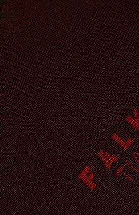 Мужские хлопковые носки tiago FALKE бордового цвета, арт. 14662 | Фото 2