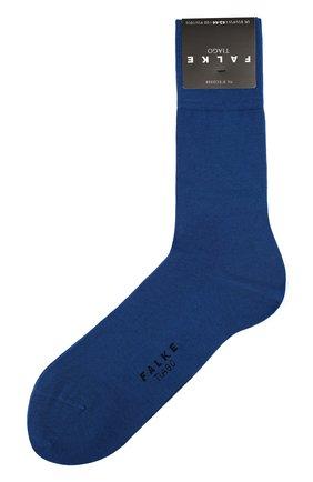 Мужские хлопковые носки tiago FALKE синего цвета, арт. 14662 | Фото 1