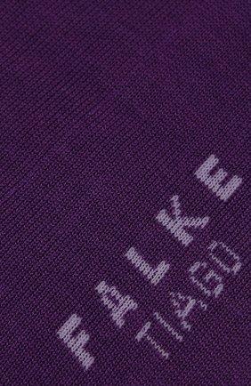 Мужские хлопковые носки tiago FALKE фиолетового цвета, арт. 14662 | Фото 2