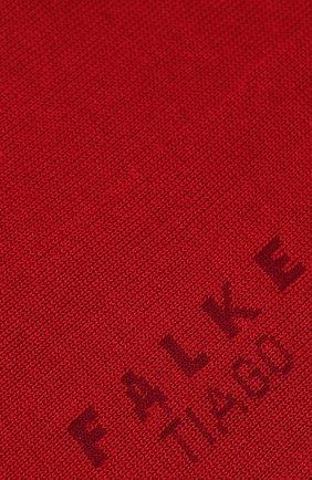 Мужские хлопковые носки tiago FALKE красного цвета, арт. 14662 | Фото 2