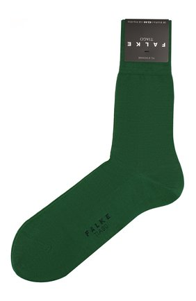 Мужские хлопковые носки tiago FALKE зеленого цвета, арт. 14662 | Фото 1