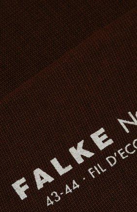 Мужские хлопковые носки FALKE коричневого цвета, арт. 14651 | Фото 2