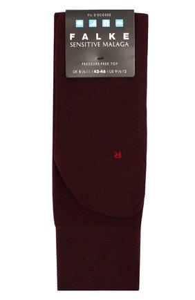 Мужские хлопковые носки sensitive malaga FALKE бордового цвета, арт. 14646 | Фото 1