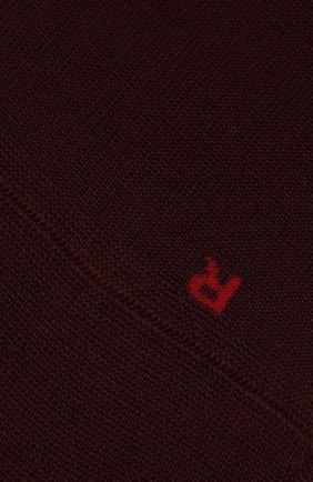 Мужские хлопковые носки sensitive malaga FALKE бордового цвета, арт. 14646 | Фото 2