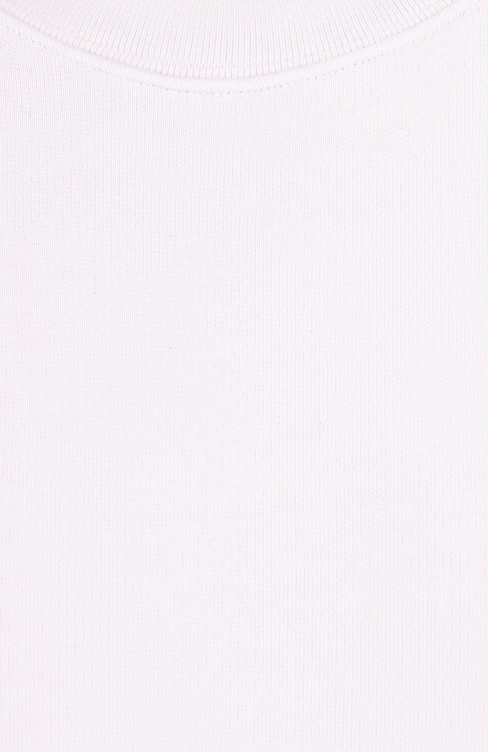 Хлопковый свитшот свободного кроя   Фото №5