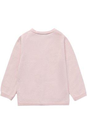Детский кашемировый кардиган с карманами TARTINE ET CHOCOLAT розового цвета, арт. TH18191/1M-18M | Фото 2
