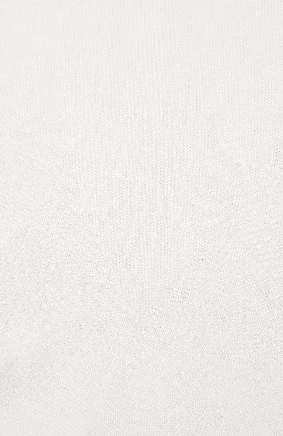 Мужские хлопковые носки ZIMMERLI белого цвета, арт. 2501 | Фото 2 (Кросс-КТ: бельё; Материал внешний: Хлопок; Статус проверки: Проверено)